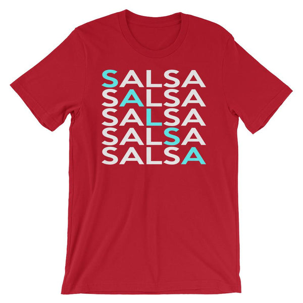 Salsa Salsa Salsa Salsa Salsa - Men's T-Shirt (Red)