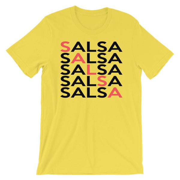 Salsa Salsa Salsa Salsa Salsa - Men's T-Shirt (Yellow)