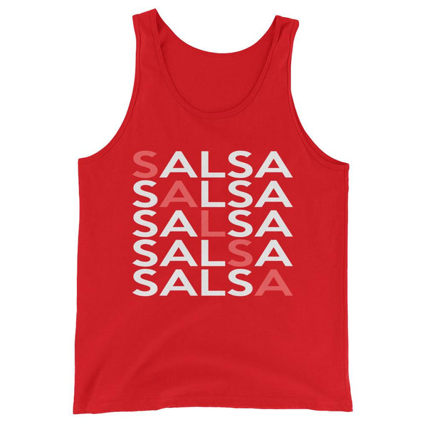 Salsa Salsa Salsa Salsa Salsa - Men's Tank Top (Red)