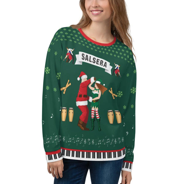 Salsera Ugly Christmas Sweater - Green