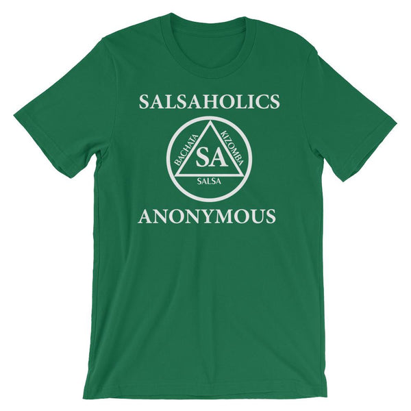 Salsaholics Anonymous - Men's T-Shirt (Kelly)
