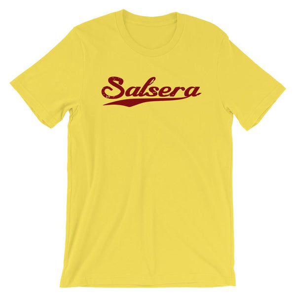 Salsera Swoosh - Women's T-Shirt (Yellow)