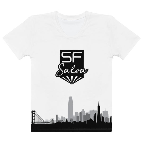 SF Salsa - Women's Salsa Dancing T-Shirt
