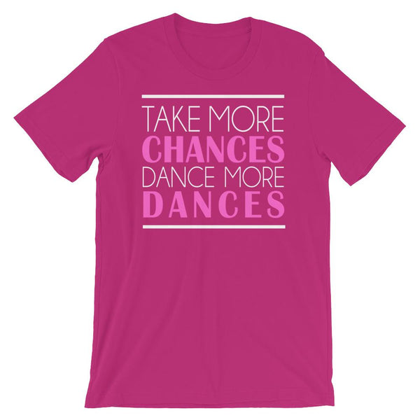 Take More Chances - Women's T-Shirt (Berry)