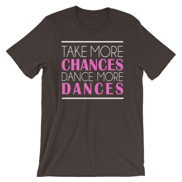 Take More Chances - Women's T-Shirt (Brown)