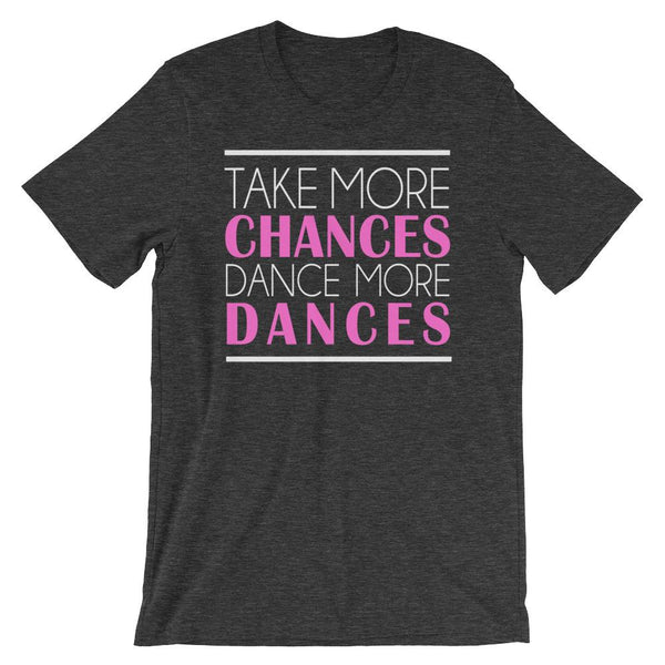 Take More Chances - Women's T-Shirt (Dark Grey Heather)
