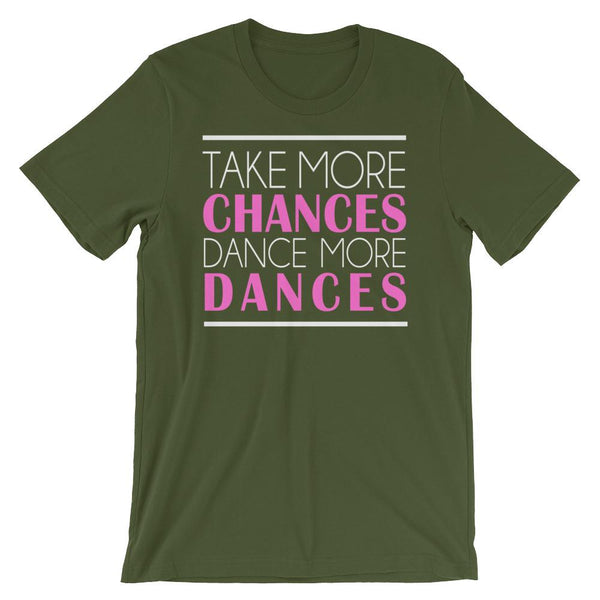 Take More Chances - Women's T-Shirt (Olive)