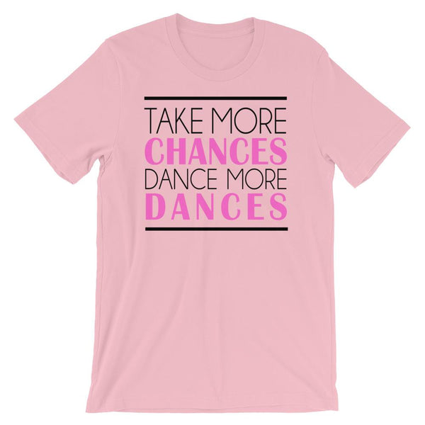 Take More Chances - Women's T-Shirt (Pink)