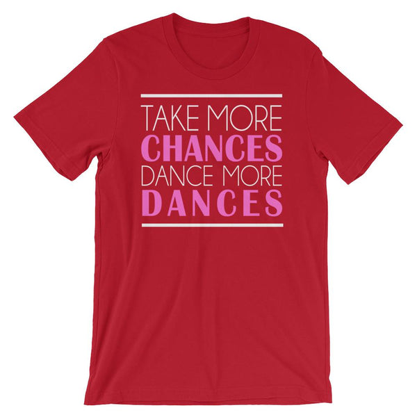 Take More Chances - Women's T-Shirt (Red)