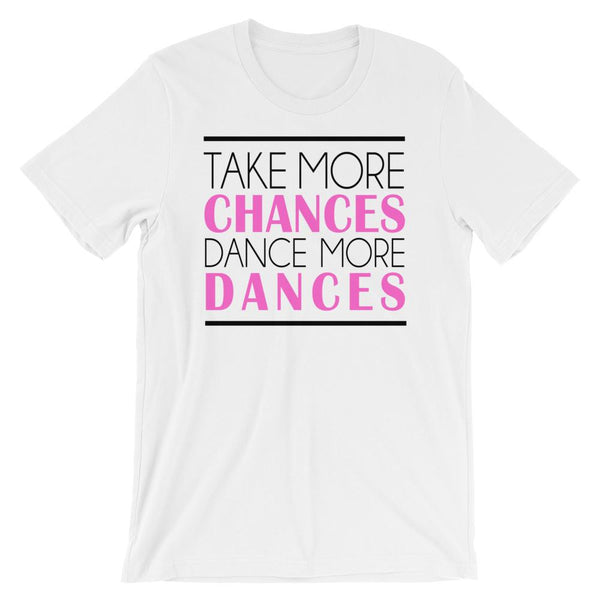 Take More Chances - Women's T-Shirt (White)