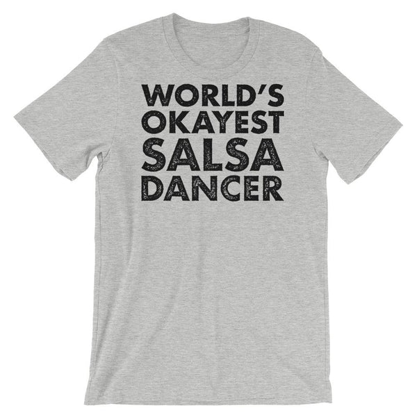 World's Okayest Salsa Dancer - Men's T-Shirt (Athletic Heather)