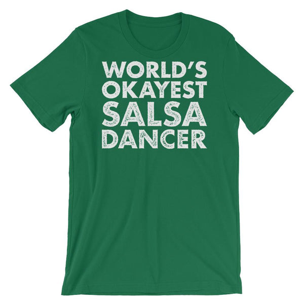 World's Okayest Salsa Dancer - Men's T-Shirt (Kelly)