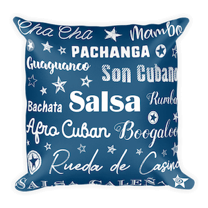 Salsa Dancing Pillows