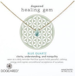 Dogeared Healing Gem Necklace wandering market