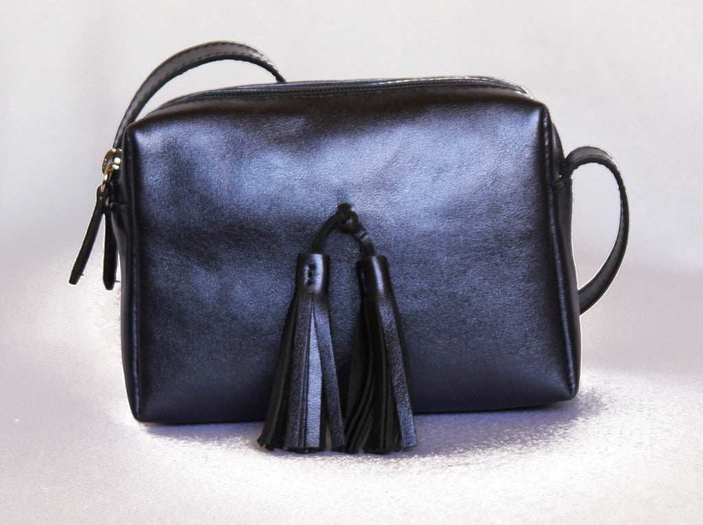 Small Leather Bag - Rikiki by MJ -Handmade -Made in Morocco