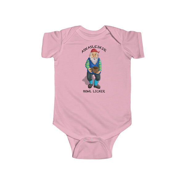 Christmas  Askarsleikir - Bowl Licker Infant  Bodysuit