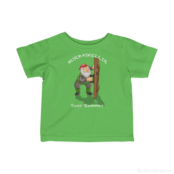 Hurðaskellir - Door Slammer - Infant Tee - Santa Claus-Kids clothes-Reykjavik Shop