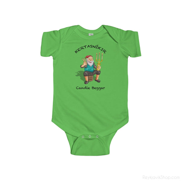 Kertasníkir - Candle Beggar - Infant Bodysuit - Santa Claus - Christmas-Kids clothes-Reykjavik Shop