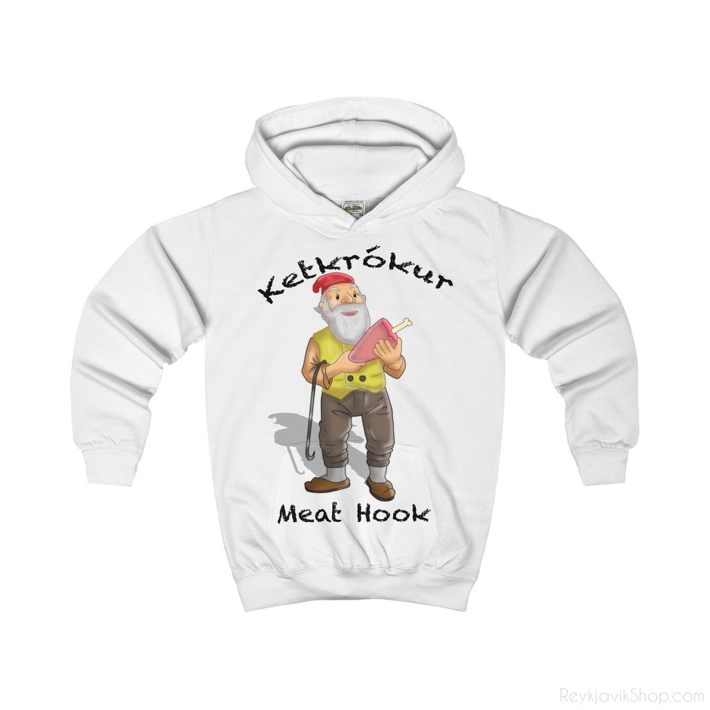 Ketkrókur - Meat Hook - Kids Hoodie - Santa Claus-Kids clothes-Reykjavik Shop