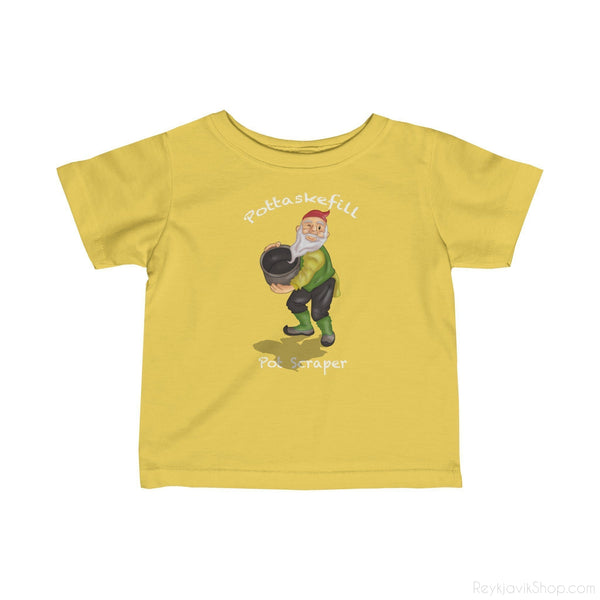 Pottaskefill - Pot Scraper - Infant Tee - Santa Claus-Kids clothes-Reykjavik Shop