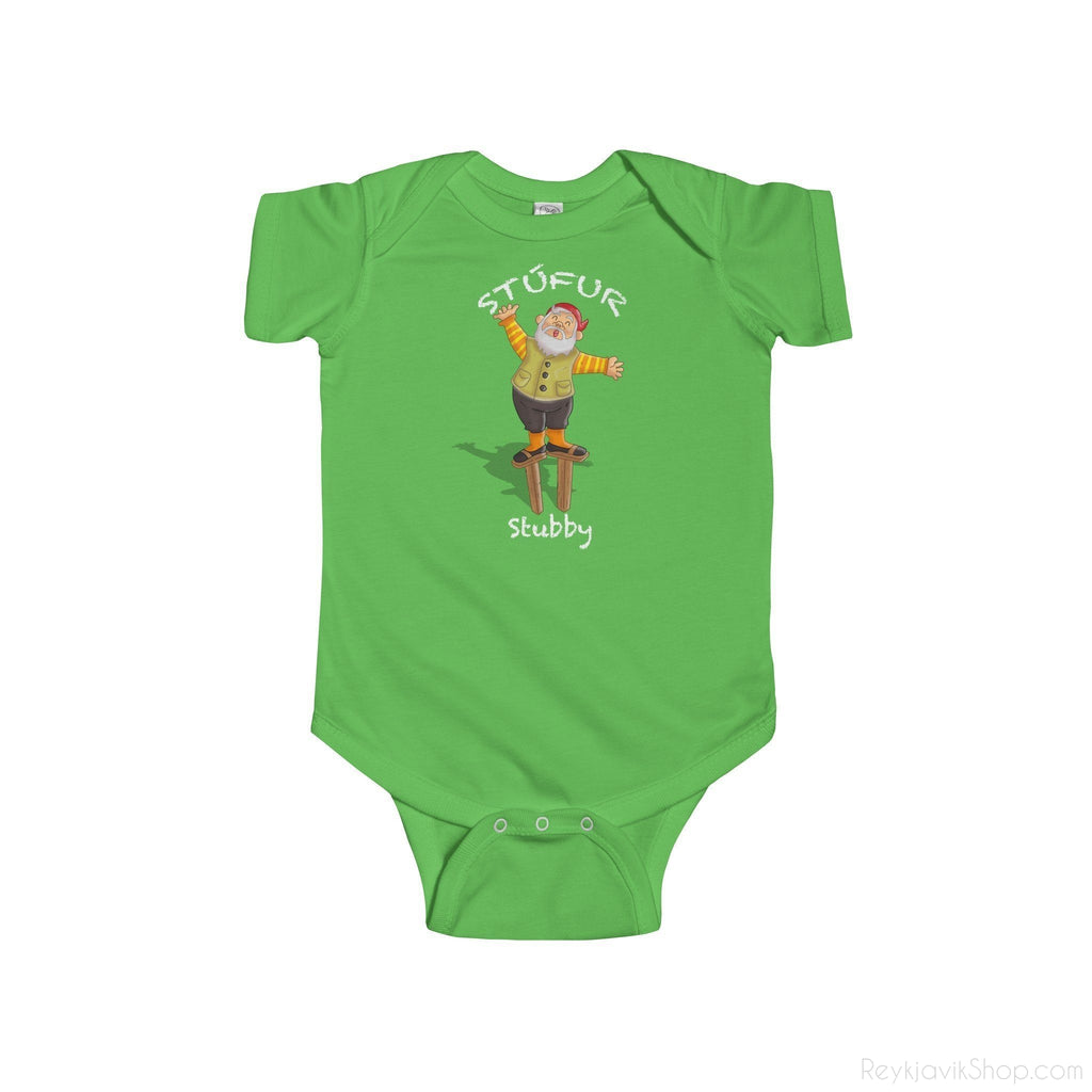 Stúfur - Stubby - Infant Bodysuit - Santa Claus - Christmas-Kids clothes-Reykjavik Shop