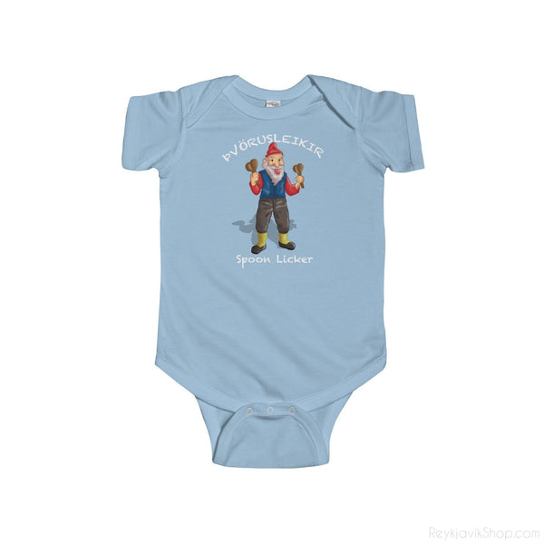 Þvörusleikir - Spoon Licker - Infant Bodysuit - Santa Claus - Christmas-Kids clothes-Reykjavik Shop