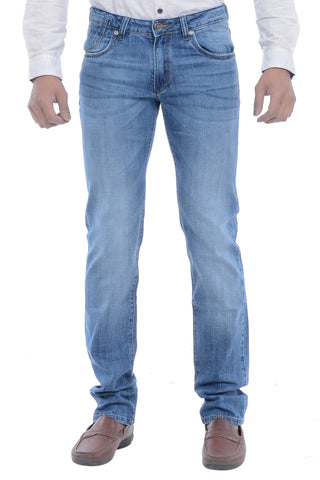 Moustache Skinny FIT  Mens Jeans-Indigo