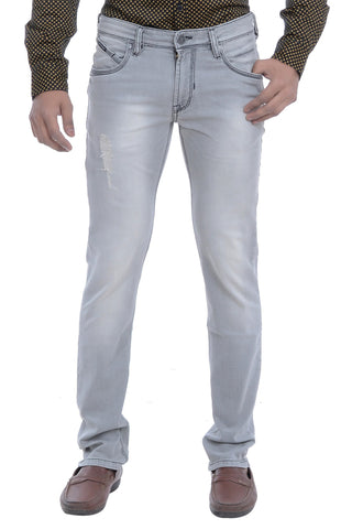 Moustache Skinny FIT  Mens Jeans-Stone