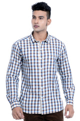 Moustache Slim Fit Mens Shirt