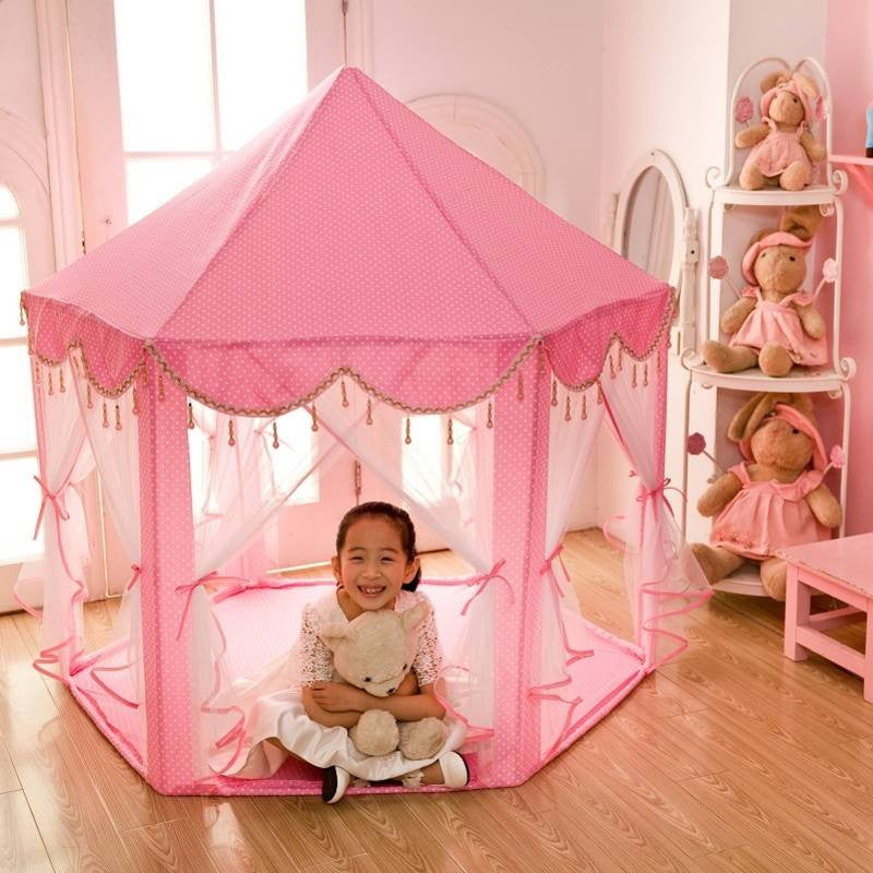 Super Cute Princess Play Tent for Girls Comes with the Light  sc 1 st  Dalosdream : girls tent - memphite.com