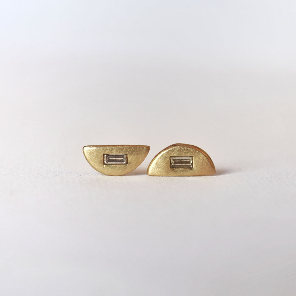 champagne diamond earrings ct pin in stud vir yellow gold jewels