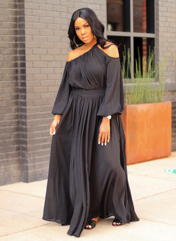 Sheer Luck | Maxi Dress