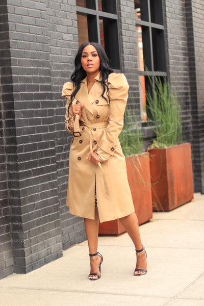 A Step Ahead | Trench Coat