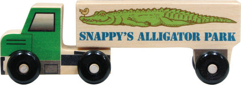 Semi Truck, Alligator