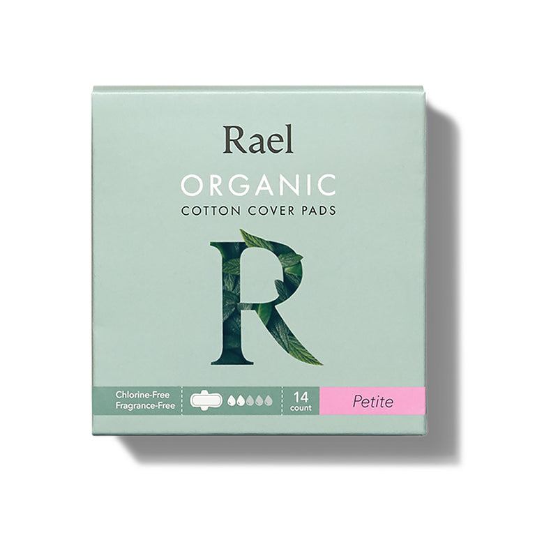 Rael Petite Pads with Organic Cotton Cover 14s