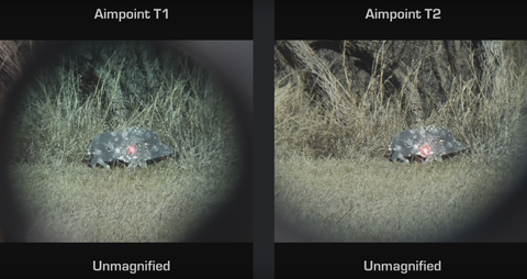 Aimpoint Comp M4 Vs Aimpoint T2which One Is Better Optically