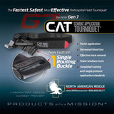 North American Rescue CAT: Combat Application Tourniquet Gen 7, Medical, NAR: North American Rescue,North American Rescue CAT: Combat Application Tourniquet Gen 7 - Big Tex Outdoors