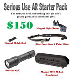 Serious Use AR Starter Pack, Mounts & Accesories, Big Tex Outdoors,Serious Use AR Starter Pack - Big Tex Outdoors