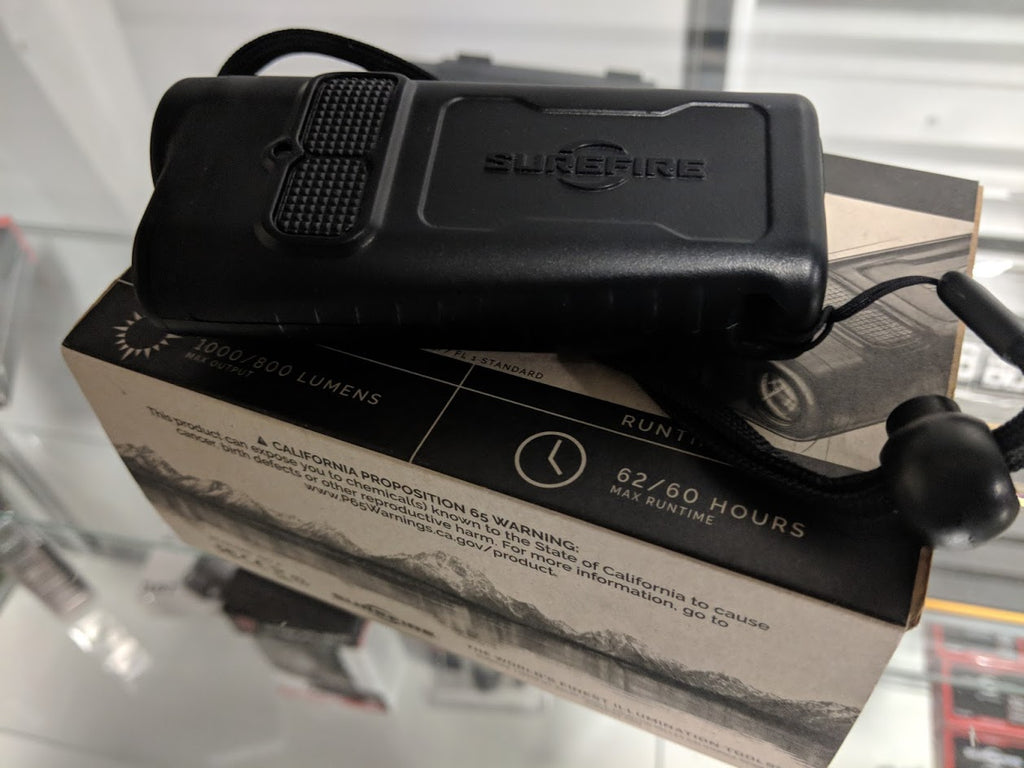 ***USED*** Surefire GUARDIAN Dual-Beam Rechargeable Ultra-High LED Flashlight, Used Gear, Used Gear,***USED*** Surefire GUARDIAN Dual-Beam Rechargeable Ultra-High LED Flashlight - Big Tex Outdoors