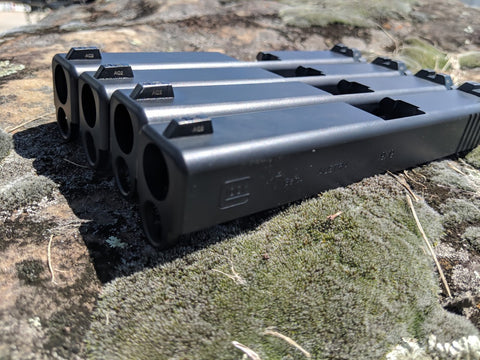 .USED Glock OEM Stripped Slides