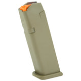 Glock OEM 9mm  Gen 5 Orange Follower Double Stack Magazines 15rd, 17rd, 24rd & 33rd | Fits Gen 2-5 G17, G19, G26, G34), Magazines, Glock,Glock OEM 9mm  Gen 5 Orange Follower Double Stack Magazines 15rd, 17rd, 24rd & 33rd | Fits Gen 2-5 G17, G19, G26, G34) - Big Tex Outdoors