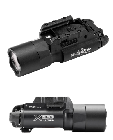 *New* Surefire X300U-A 1,000 Lumens LED Weapons Mounted Light X300 Ultra, Lights, Surefire,*New* Surefire X300U-A 1,000 Lumens LED Weapons Mounted Light X300 Ultra - Big Tex Outdoors