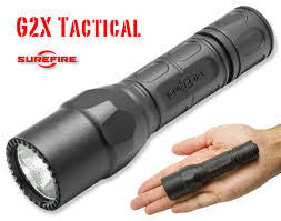 Surefire G2X Tactical 320 Lumens LED Black Polymer, Lights, Surefire,Surefire G2X Tactical 320 Lumens LED Black Polymer - Big Tex Outdoors