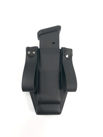 CNC Bomber Mag Carrier (Ambidextrous Magazine Carrier) For Glock, S&W, CZ, H&K, Sig Sauer, FN, Holsters, CNC Holsters,CNC Bomber Mag Carrier (Ambidextrous Magazine Carrier) For Glock, S&W, CZ, H&K, Sig Sauer, FN - Big Tex Outdoors