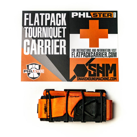 PHLster Flatpack™ Tourniquet Carrier + NAR CAT Gen 7 TQ, Medical, PHLster,PHLster Flatpack™ Tourniquet Carrier + NAR CAT Gen 7 TQ - Big Tex Outdoors