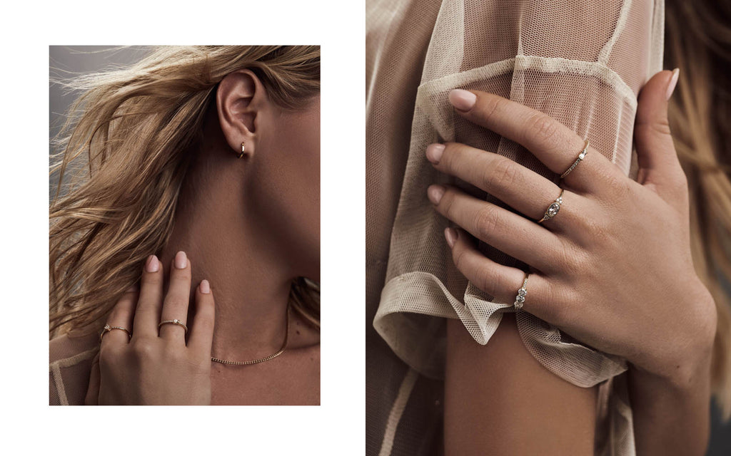 The Faint Hearted Jewelry, Bryana Holly, Lookbook, Icon