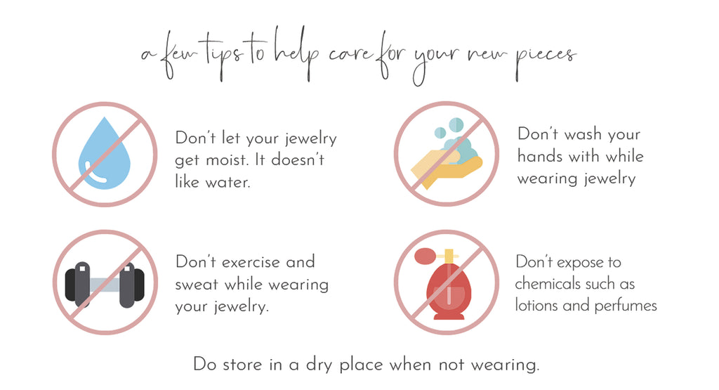 how to care for your jewelry so that it does not tarnish