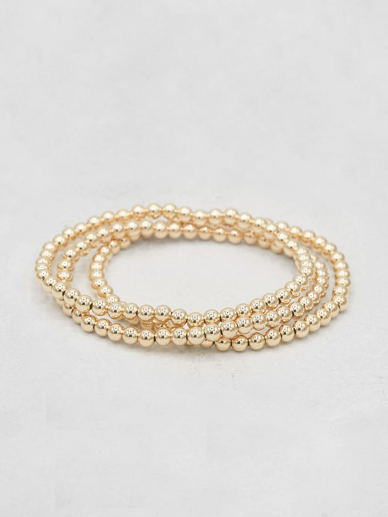 Beaded Bracelet - Gold Filled