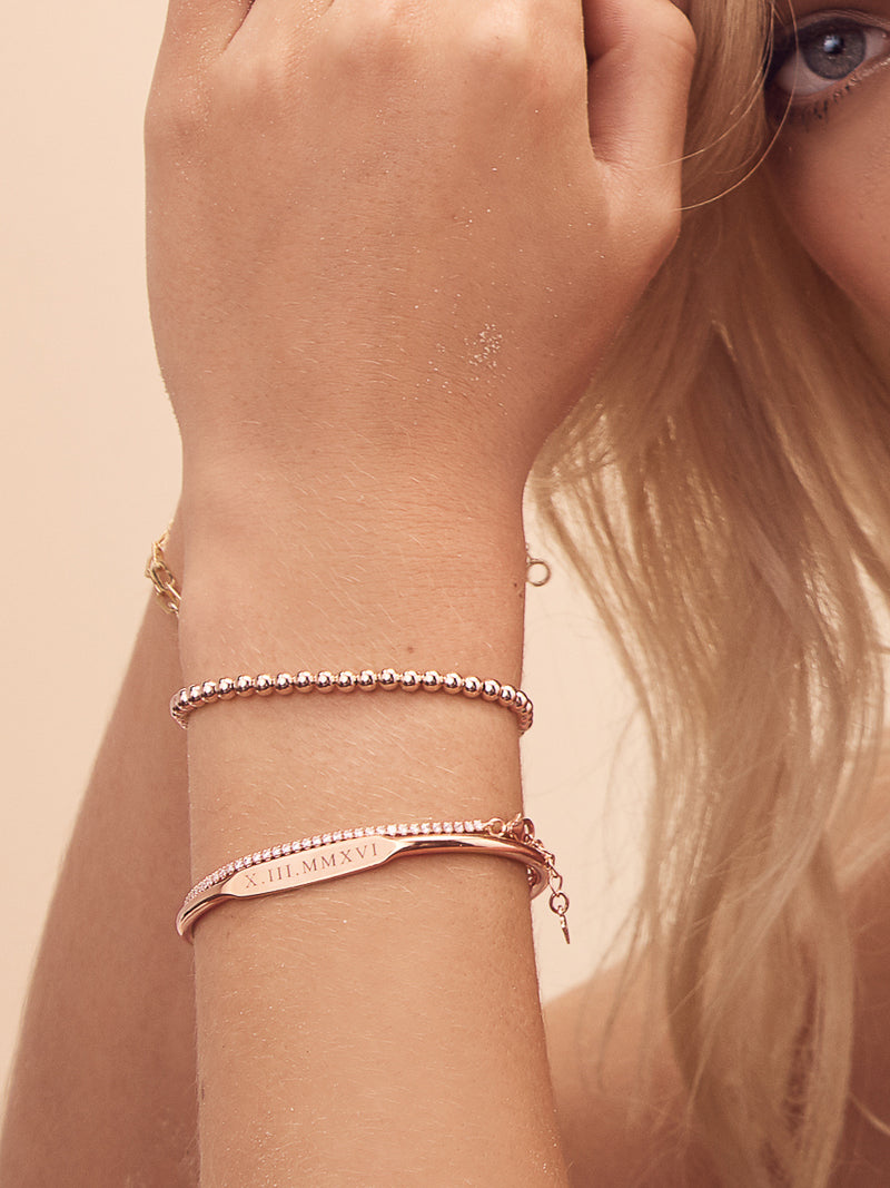 Tennis Bracelet - Rose Gold