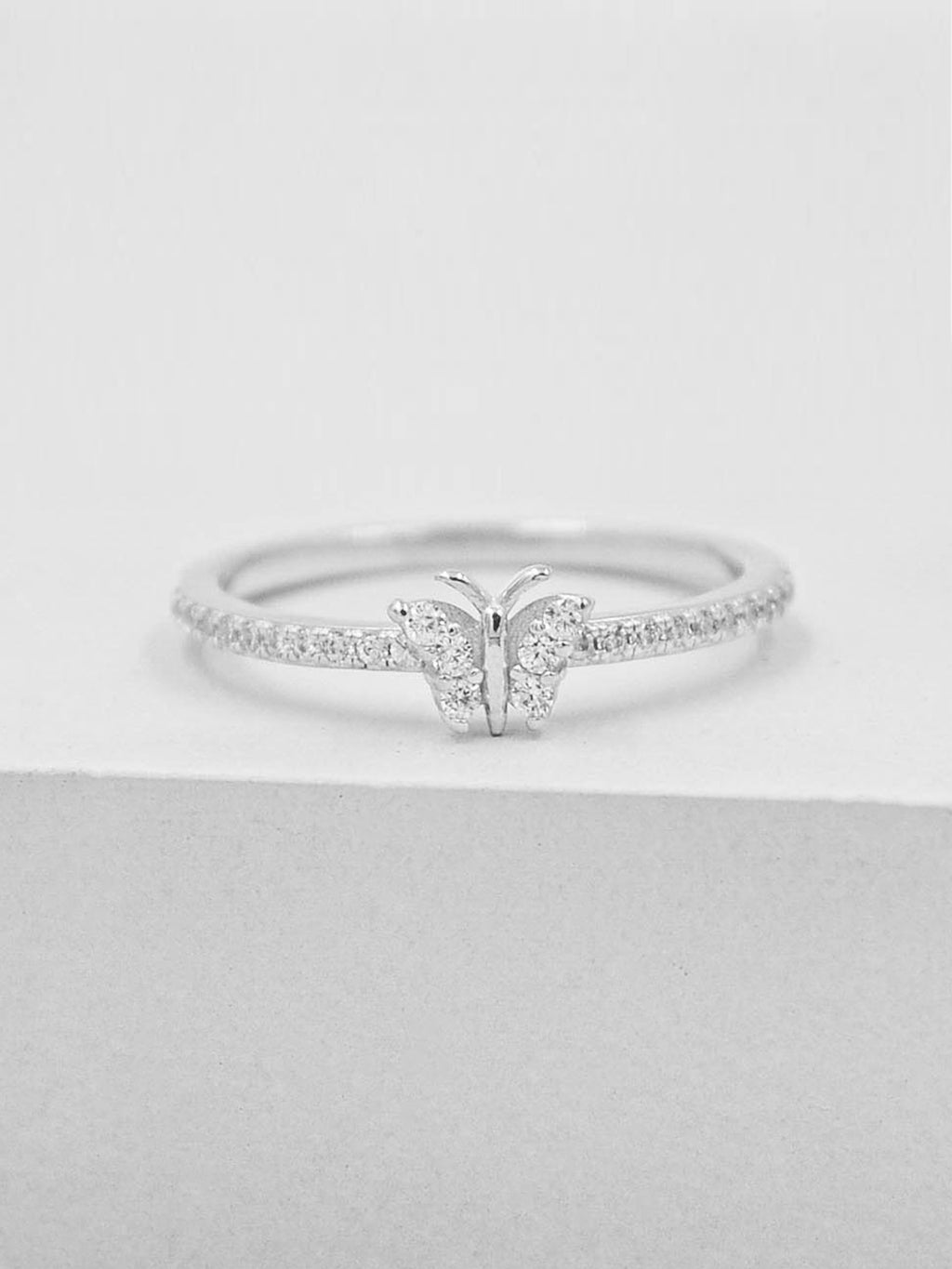 Butterfly Ring - Silver
